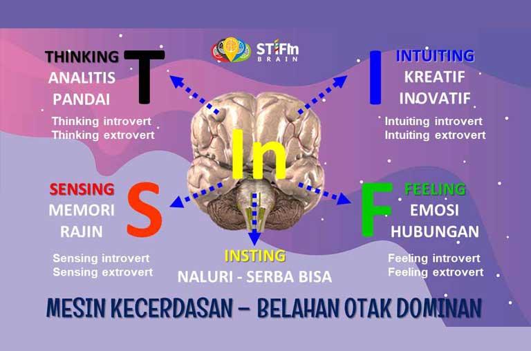 STIFIn Adalah Belahan Otak Dominan Mesin Kecerdasan